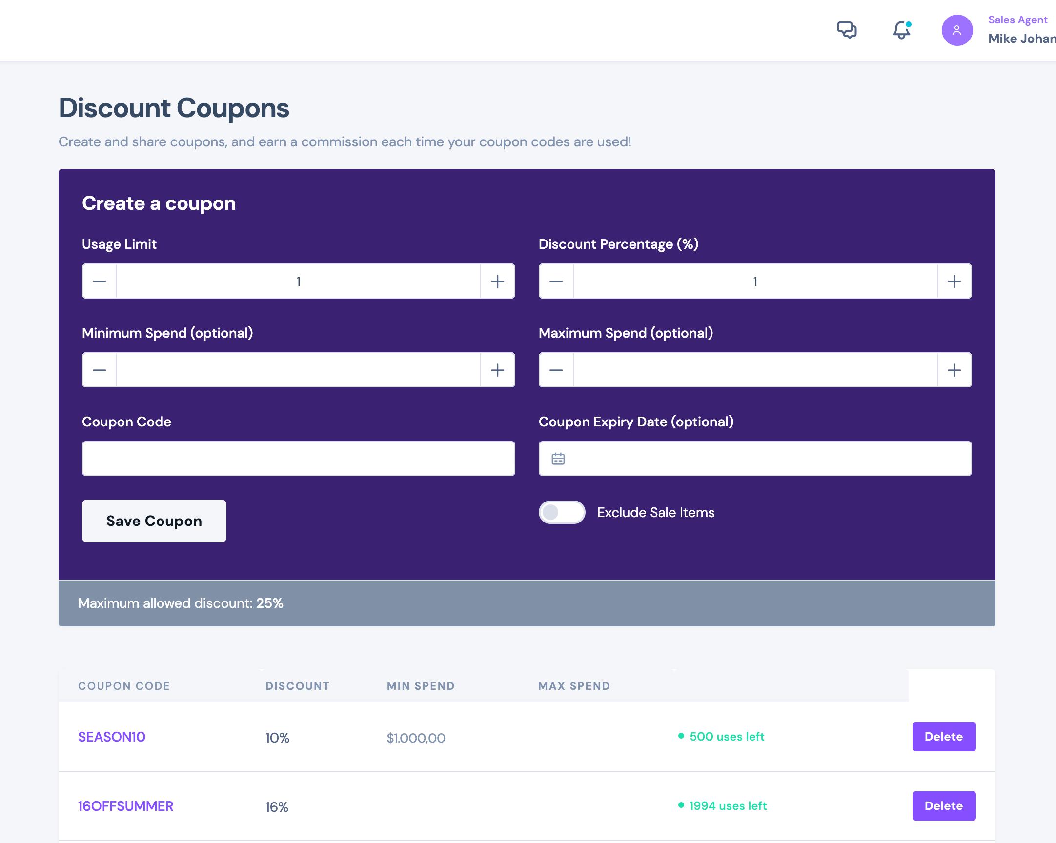 SalesKing - Ultimate Sales Team, Agents & Reps Plugin for WooCommerce - 9