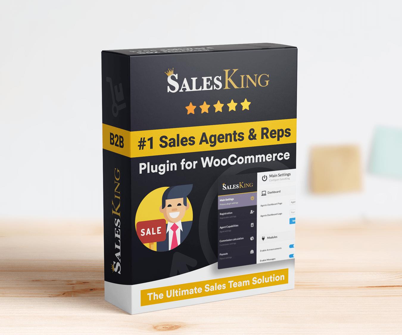 SalesKing - Ultimate Sales Team, Agents & Reps Plugin for WooCommerce - 4